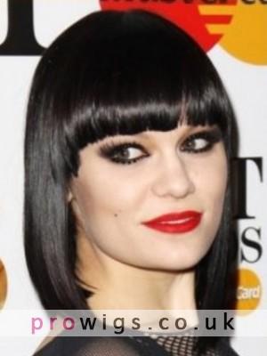 A Jessie J Style Beautiful Black Bob Wig