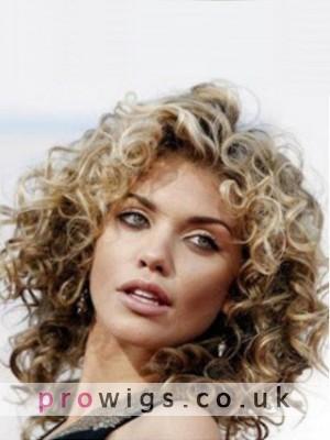"""12"""" Annalynne Mccord Medium Wavy Popular Full Lace Hair Wig"""