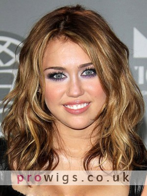 Miley Cyrus Fashion New Style Hair Capless Wig