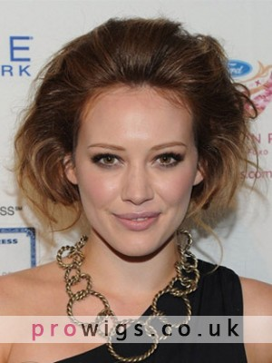 Hilary Duff's Graceful Hairstyle Lace Wig