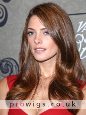 Ashley Greene's Long Romantic Sexy Wavy Wig Style