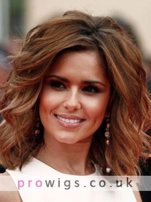 Cheryl Cole Medium Length Synthetic Hair