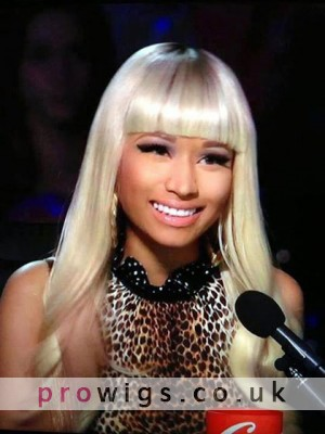 Nicki Minaj's Long Wavy Heat Friendly Synthetic Wig