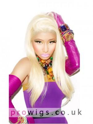 Nicki Minaj's Long Straight 100% Remy Human Hair Wig