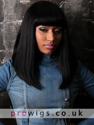 Long Capless Nicki Minaj's Wig