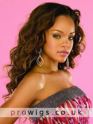 Rihanna's Long Capless Heat Friendly Synthetic Wig