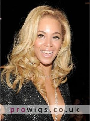 Natural Human Hair Beyonce Wavy Wig
