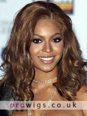 Beyonce Amazing Medium Wavy Synthetic Wig
