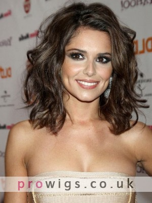 Cheryl Cole New Wavy Synthetic Wig