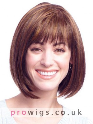 Bob Style Lace Front Synthetic Wig