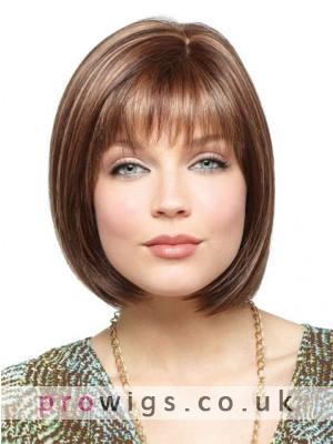 100% Remy Human Hair Full Lace Bob Wig