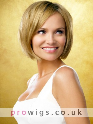 Fabulous Short Lace Front Straight Human Hair Wig