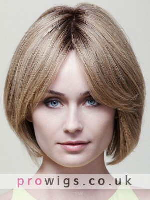 Sofest Human Hair Lace Wig In Bob Style