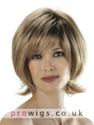 Izzy Natural Straight Short Wigs
