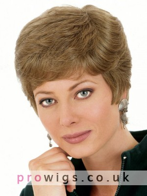 Synthetic Short Straight Wig