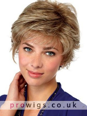 Synthetic Lace Front Short Wig