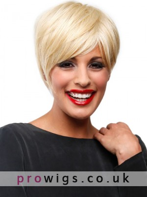 Short Sleek Boy Cut Synthetic Wig