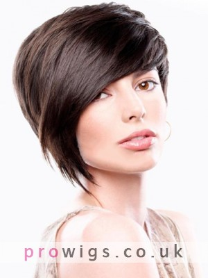 New Fashion 100% Human Hair Wig