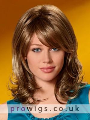 Synthetic Casual Wavy Medium Wig