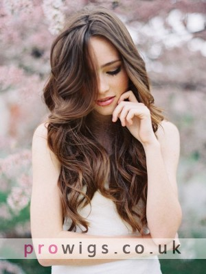 Female Long Straight Synthetic Hair Wig 22 Inch