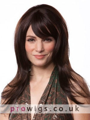 100% Remy Human Hair Long Straight Wig