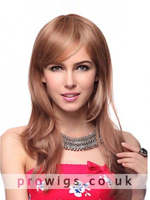 Capless Long Straight Synthetic Wig