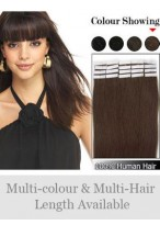 """16"""" 20pcs Straight Tape in Hair Extensions"""