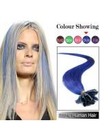"""18"""" 100% Human Hair Nail Tip Extensions"""