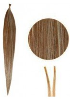 Mixed Silky Straight Stick/I Tip Hair Extensions