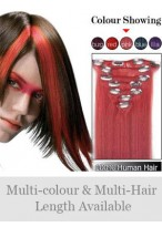 """7 pcs From 14"""" Straight Clip In Full Head Set"""