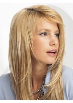 """10 pcs 16"""" Straight Synthetic Clip in Hair Extensions"""