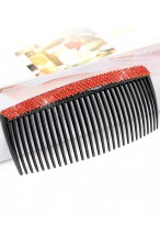 Women's Popular Rhinestone Crystal Fringe Hair Combs