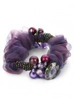Best-sellers Pearl Headdress Flower Chiffon Scrunchies