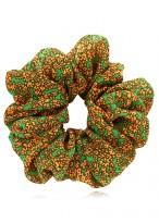 Women's Hand Made Floral Prints Chiffon Scrunchies