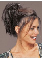 Clip-It Spiky Hairpiece