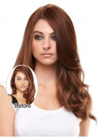 Long Remy Human Hair Hairpieces