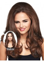 Synthetic Long Wavy Clip in Hairpieces