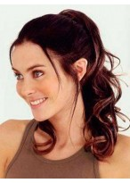 """20"""" Wavy Layered With Clip Attachment Synthetic Ponytail"""