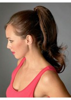Straight Claw Clip Synthetic Ponytail