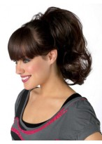 Flattering Silky Straight Synthetic Ponytail