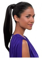 Pressure Clip Simply Straight Synthetic Ponytail