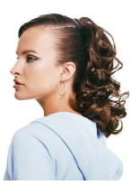 """16"""" Claw Clip Curly Locks Synthetic Ponytail"""