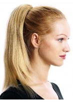Synthetic Clip in Ponytail