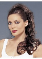 Long Synthetic With Clip Attachment Ponytail