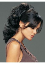 Long Synthetic Claw Clip Ponytail