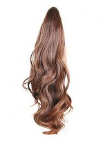 Claw Clip Synthetic Wavy Ponytail