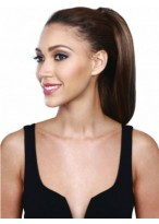 Charming Silky Straight Natural Drawstring Hairpieces