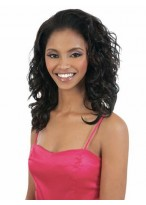 Dynamic Medium Wavy Synthetic Half Wig