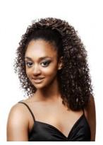 Fabulous Medium Curly Synthetic Half Wig