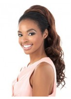 Lovely Long Wavy Synthetic Half Wig